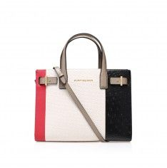 woven london tote multi-coloured tote bag from Kurt Geiger London