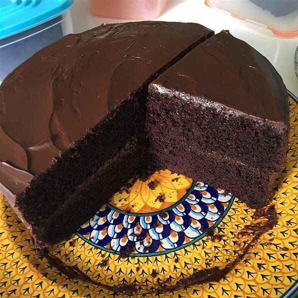 Dark Chocolate Cake Ii Recipe Dark Chocolate Cakes Cake Chocolate Cake