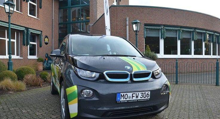 Strick duitslandborrel elektromobiliteit