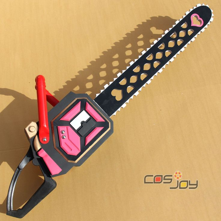 Lollipop Chainsaw  Juliet Chainsaw PVC Cosplay Prop