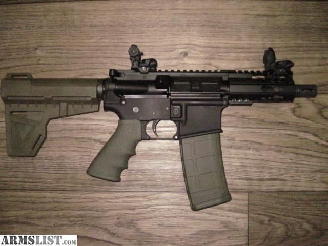 ARMSLIST - For Sale: MICRO AR15 PISTOL 4 5 inch barrel   AR