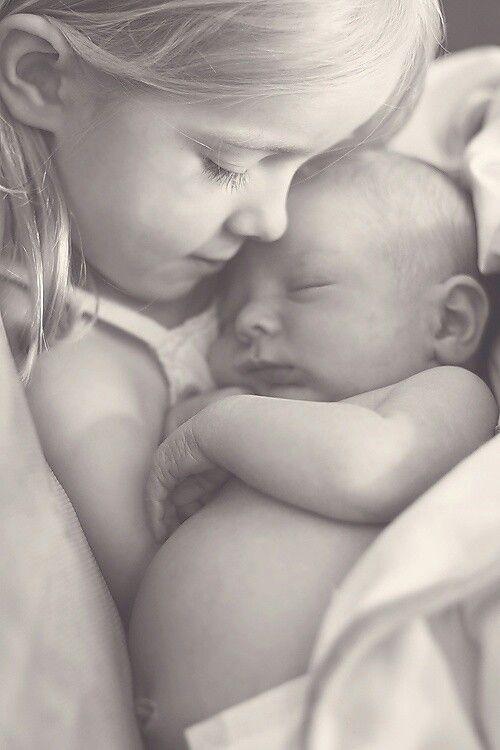 Freya and baby Aiden