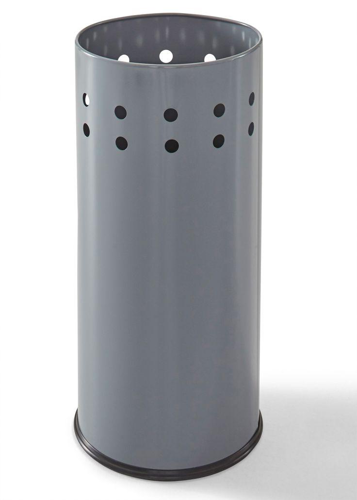 grijs gelakte paraplubak met opvangbak van kunststof voor de regendruppels wordt gemonteerd geleverd let op dit is een bijzondere bezorgservice meer informatie vindt u onder service