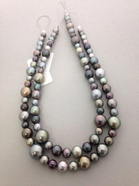 Multi-color Tahitian Pearls