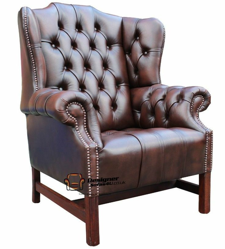 churchill fireside high back wing chair antique brown leather wing chairs and wings