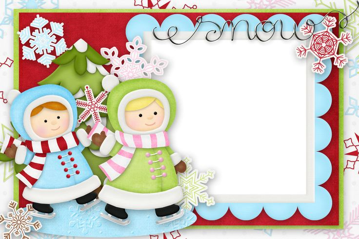 Marcos de Navidad infantiles : Plantillas, recursos y más ...