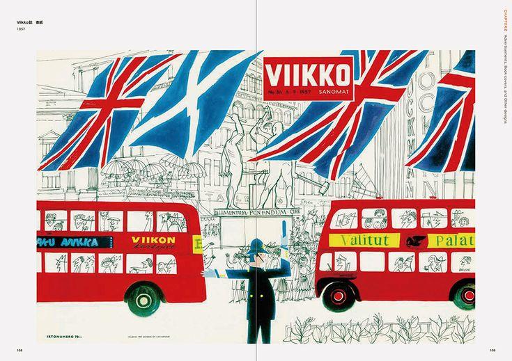 "Inside page of ""Erik Bruun: Finnish Graphic Designer"" #GraphicDesign #ErikBruun #Finland #FinnishDesign #JAFFA #VIKKO #magazinecover"