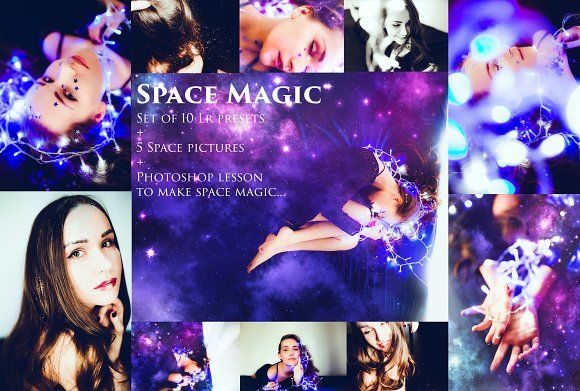 Space Magic-10 presets+Bonus! by Krisp_Krisp on @creativemarket
