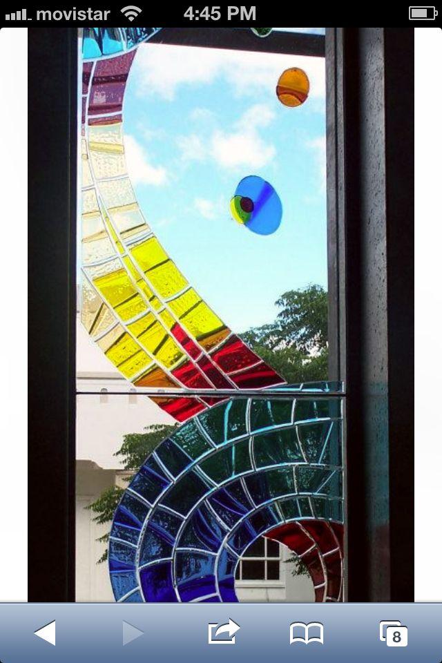 Glass tiles  Opera house Hastings NZ
