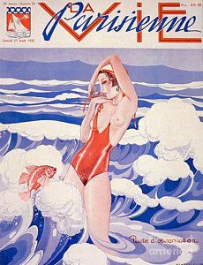 Drawing - 1930s France La Vie Parisienne Magazine by The Advertising Archives