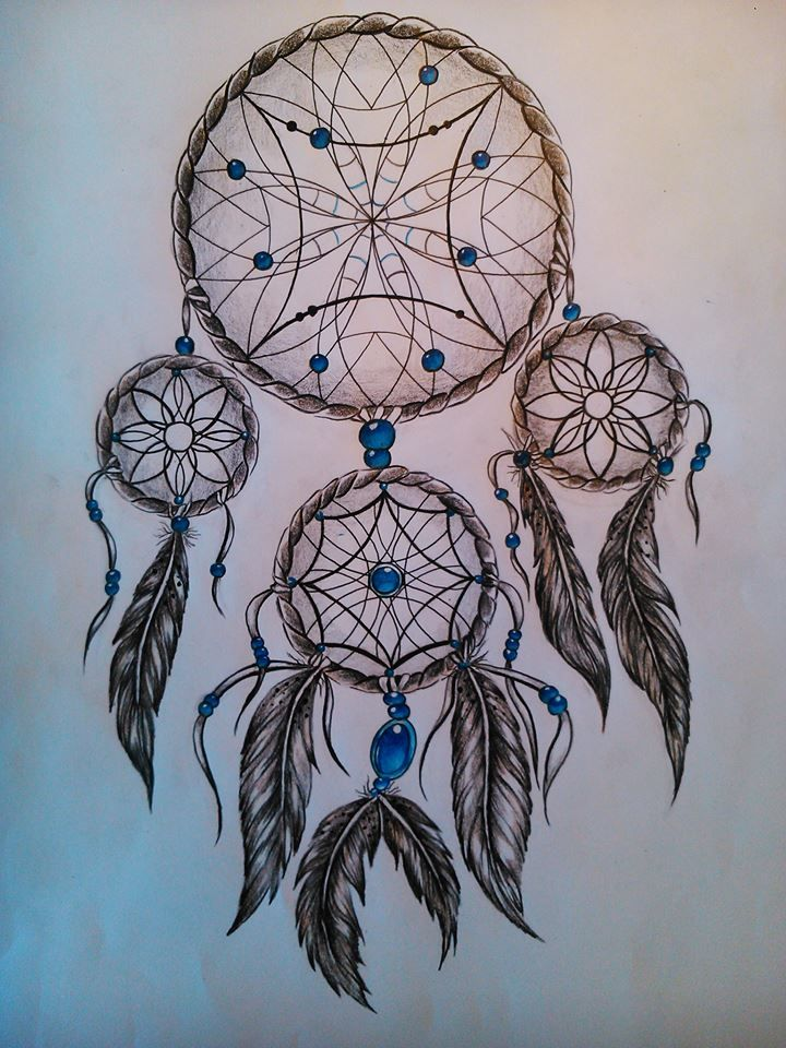 Dreamcatcher - Drawing