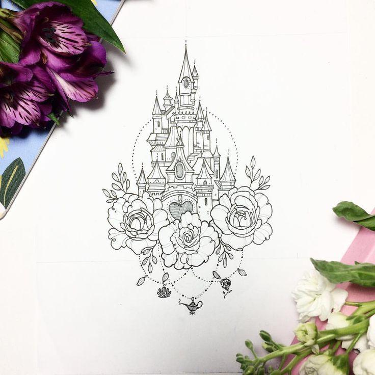 50 Disney Tattoos für diese, die nicht Erwachsen werden wollen