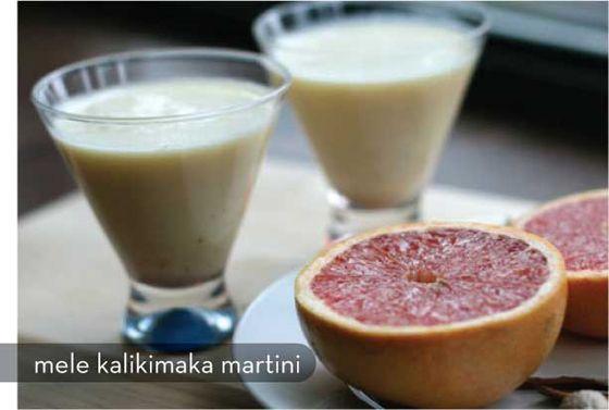 Mele Kalikimaka Martini
