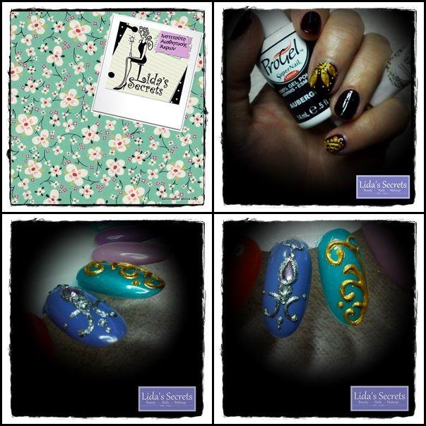 3D Nail Art from Lida T. & Lida's Secrets  https://www.facebook.com/pages/LIDAS-SECRETS/141639179185387
