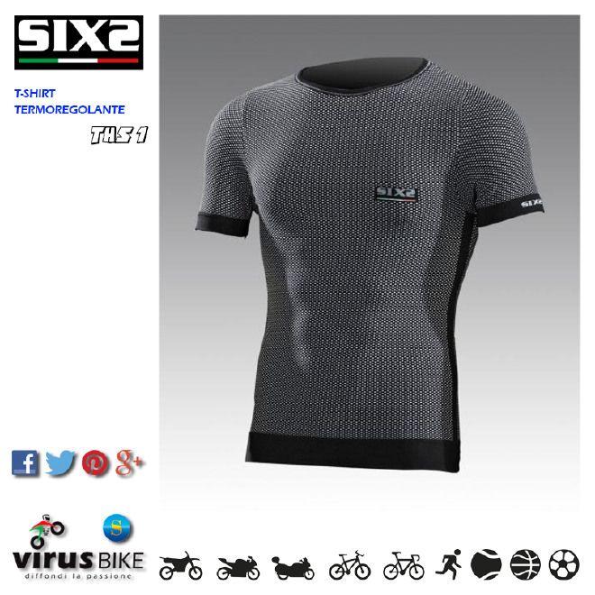 SIXS T-Shirt Active THS 1, con tecnologia anti-sudore e anti-gelo Original Carbon Underwear. L'occasione giusta per provare un capo specialistico così importante per il motociclista (e per gli sportivi).