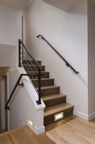 Split level design - upper banister fix