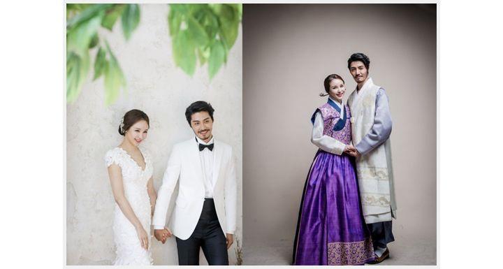[스타웨딩] 배우 이관훈, 친구에서 연인 결혼까지 골인