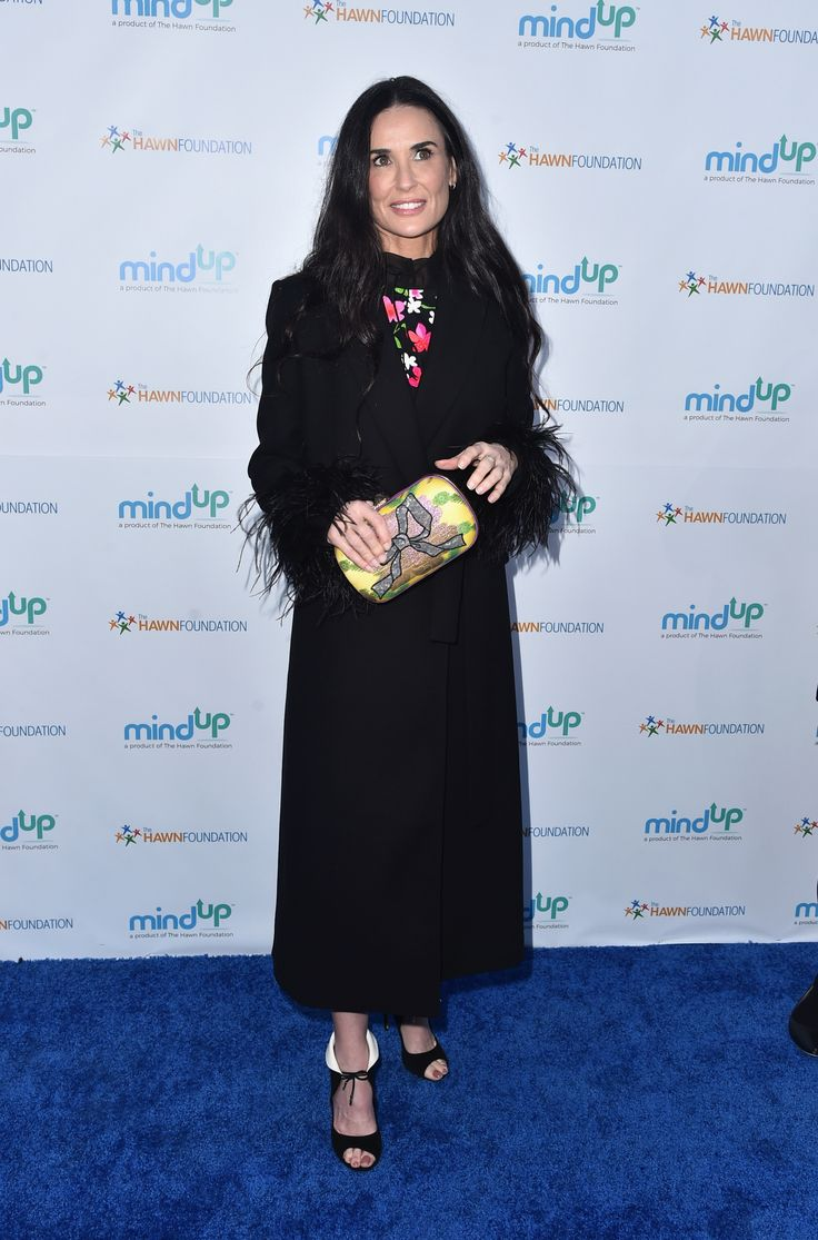 BEVERLY HILLS, CA - MAY 06:  Actress Demi Moore attends Goldie Hawn's Annual Goldie's Love In For Kids on May 06, 2016 in Beverly Hills, California.  (Photo by Alberto E. Rodriguez/Getty Images) via @AOL_Lifestyle Read more: https://www.aol.com/article/entertainment/2017/06/13/demi-moore-toothless-selfie/22140333/?a_dgi=aolshare_pinterest#fullscreen