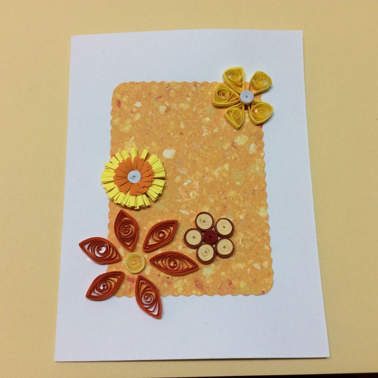 wish card quilling
