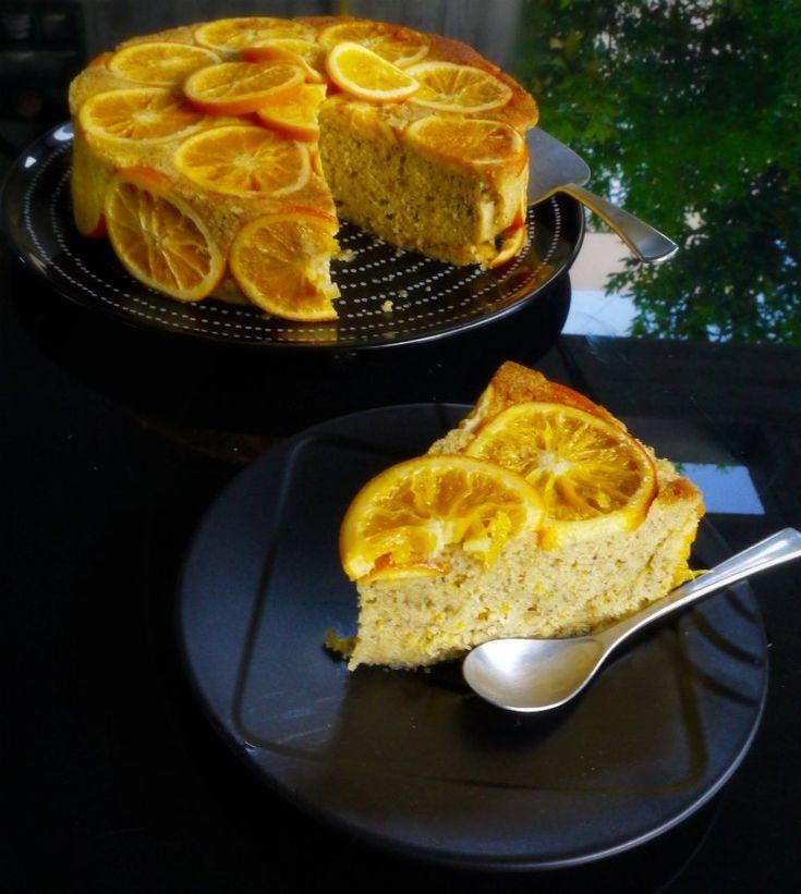 Orange cake- πορτοκαλόπιτα χωρίς φύλλο
