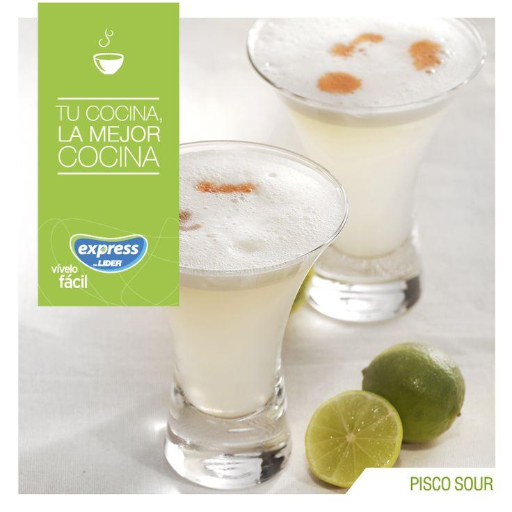 Pisco sour. #Recetario #Receta #RecetarioExpress #Lider #Food #Foodporn #Perú