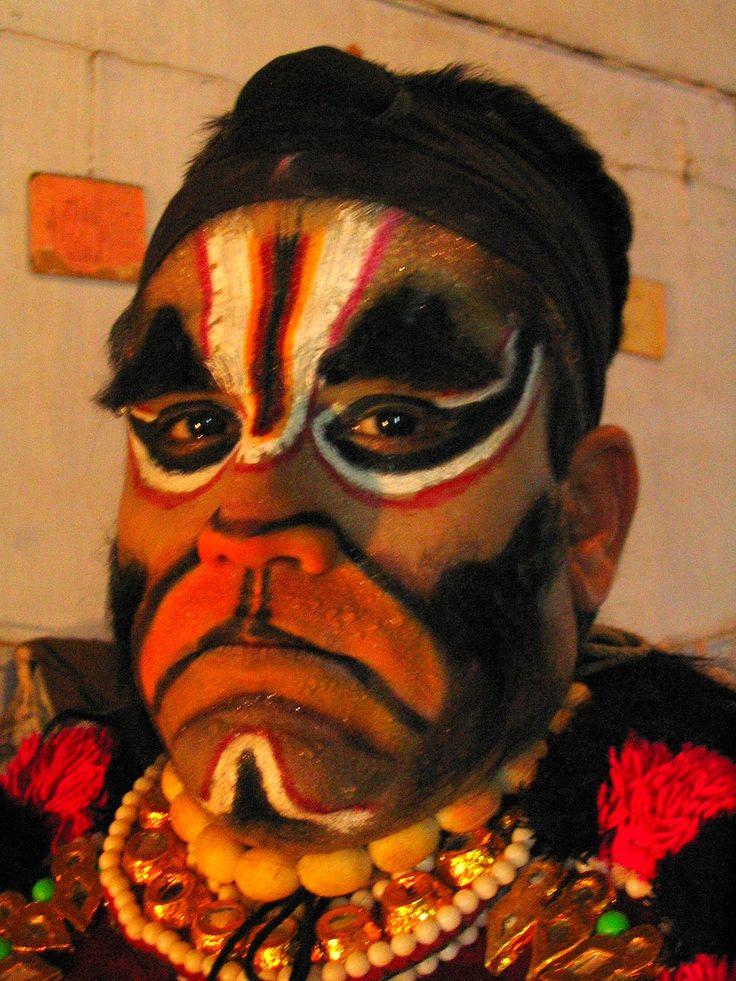 yakshagana makeup Google Search Face art, Face