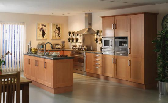 birch shaker kitchen | ... Stilo Kitchen Gallery Shaker Kitchen Door Range Shaker Kitchen Gallery. Simple and clean.