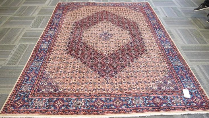 "NR: 20226 Location: Moud  Size: 9'11"" x 7'1""  Country: Iran  Pile: Wool  Base: Cotton"