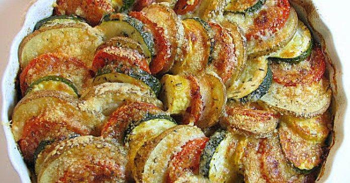 Recept na zapékanou zeleninu