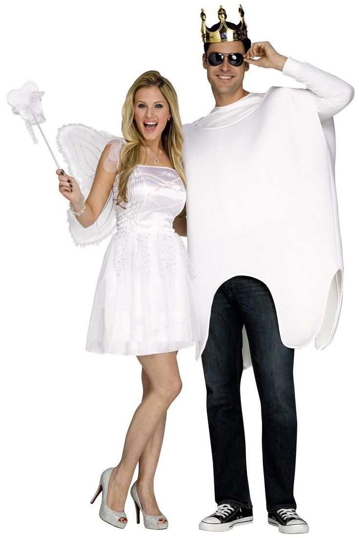 Tooth Fairy and Tooth Costume For Adults from CostumeExpress.com