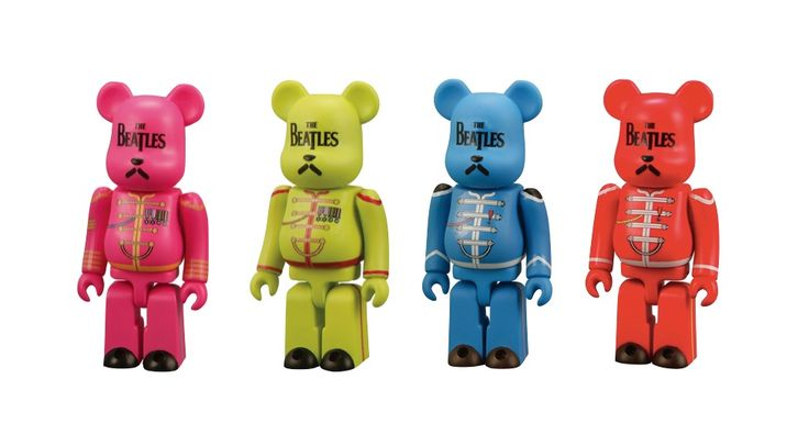 Bearbrick Sgt. Peppers set