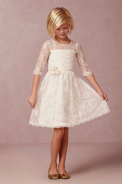 BHLDN Annie Dress in  Dresses Flower Girl Dresses at BHLDN