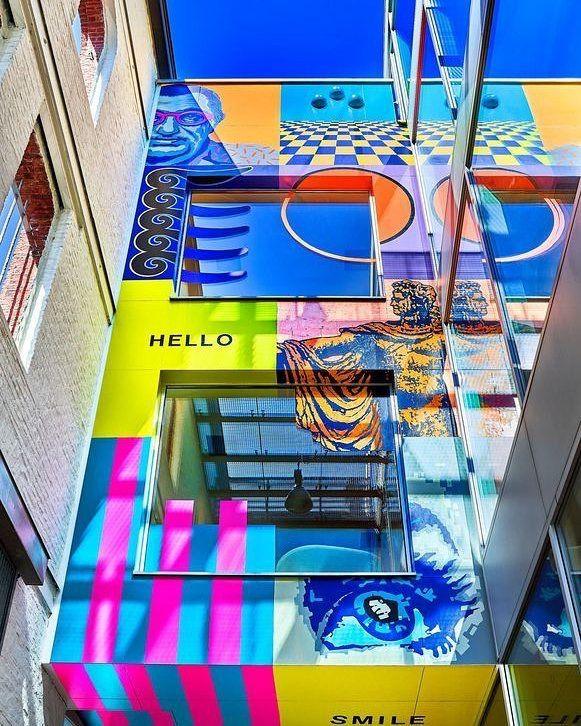 30 years theo #eyewear ! Wallpainting @ Theo headquarters in #Antwerp. 30 jaar Theo brillen moet gevierd worden. #theoeyewear #theo #theoriginals #theolovesyou #eyewear #glasses #design #wallpaint #wallpaper #wallart #walldecor #art http://www.optiekvanderlinden.be/Theo.html