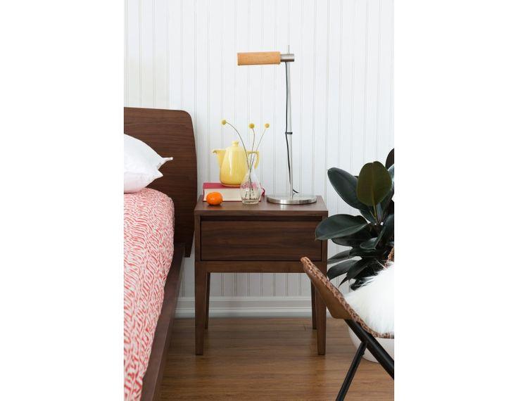 CINO - Bedside table - Walnut