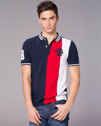 Giordano Striped Lion Polo is tapered fit and has a distinctive mix of casual and sports styles.  This Polo shirt is perfect to pair with Giordano Denim Trouser or the classic Giordano Jeans.