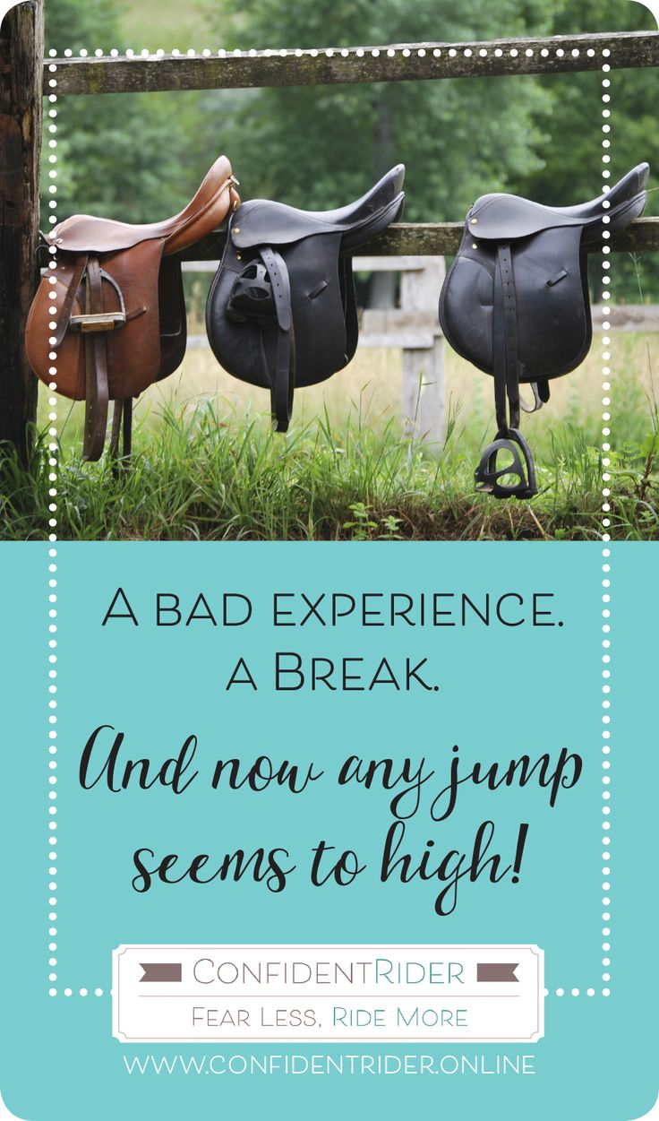 """Julie wrote to me about a situation that I know is not at all uncommon; she had a series of """"bad experiences"""" jumping, a bit of a break (in her case a few years) and now she is finding on her return that her mojo and jumping confidence has totally left the building. Gah!  Here's what she has to say…."""