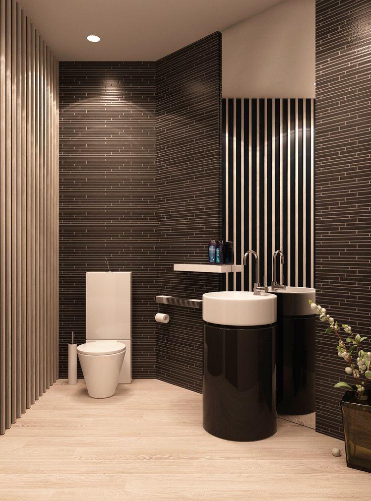 Modern Bathroom Gorgeous Picture Modern Bathroom Bathroom Style Interior Architecture Design Gorgeous black stone small bathroom