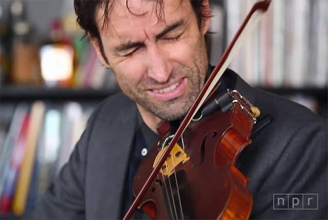 Watch Master Violinist/Whistler Andrew Bird in Concert | Mental Floss
