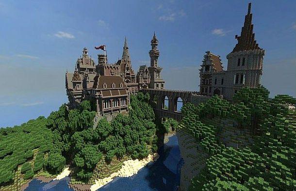 Menock Castle Minecraft World Save