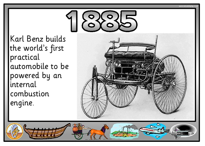 Karl  Benz Builds The Worlds First Practical Automobile