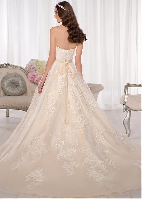 David Tutera Wedding Dresses Houston : Wedding dresses a line dress natural court