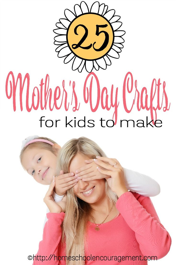 25 Awesome Mother's Day Crafts for Kids
