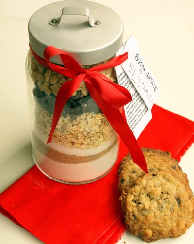 Biscotti nel barattolo, un regalo perfetto