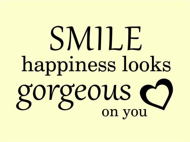 Smile Happiness Beauty Positive Quotes Pictures Www Picturesboss Com