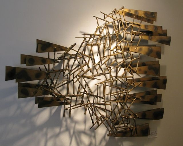 Metal Wall Sculpture 9 best wall art ideas images on pinterest | wall sculptures, metal