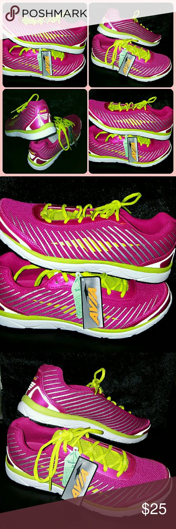 """🔮NEW/TAGS AVIA LYNX PINK ATHLETIC TENNIS SHOES BRAND NEW/NEVER WORN with TAGZ SUPERCOOL LOOKIN AVIA """"lynx"""" ATHLETIC TENNIS SHOES Avia Shoes Athletic Shoes"""