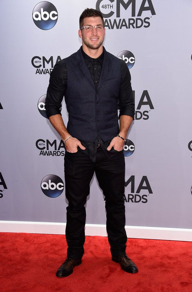 Celebrities the CMA Awards 2014 | POPSUGAR Celebrity, Tim Tebow