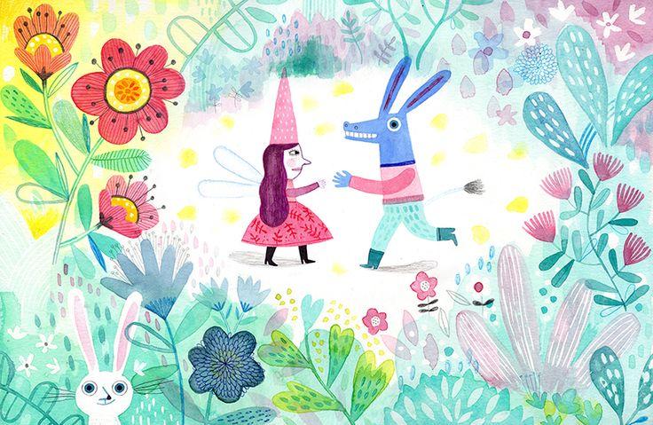 'Sueño de una noche de verano' es el tema elegido por Flavia Zorrilla Drago para conmemorar el segundo aniversario del blog 'Linternas y bosques', especializado en crítica de literatura infantil y juvenil.