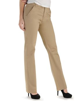 Platinum Label - No-Gap Waistband Leah Straight Leg Pant