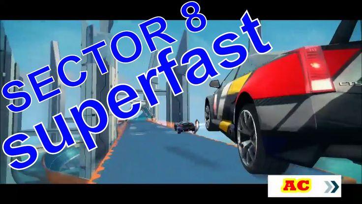 ASPHALT 8 AIRBORNE SECTOR 8 SUPERFAST tour walkthrough gameplay  asphalt...